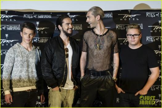 Tokio Hotel Press Conference & Photocall