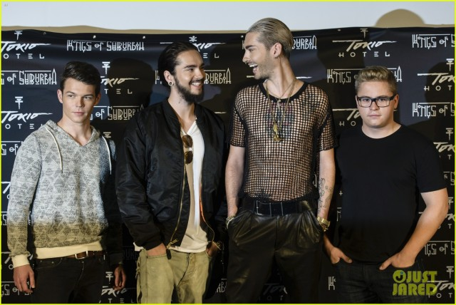 Tokio Hotel Press Conference & Photocall