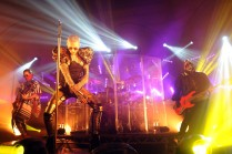 Tokio Hotel performing on their 'Club Experience Tour'