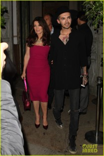 West Hollywood, CA - Tokio Hotel star Bill Kaulitz and RHOBH's Lisa Vanderpump are all smiles after a celebratory night at Sur Lounge in West Hollywood. AKM-GSI July 20, 2015 To License These Photos, Please Contact : Steve Ginsburg (310) 505-8447 (323) 423-9397 steve@akmgsi.com sales@akmgsi.com or Maria Buda (917) 242-1505 mbuda@akmgsi.com ginsburgspalyinc@gmail.com