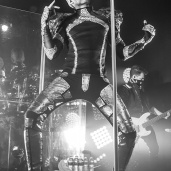 Tokio Hotel performing on the Feel It All World Tour 2015: Part 2 The Club Experience North America at St. Andrews Hall in Detroit, MI on August 6th 2015 Photo by Marc Nader