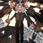 """Bill Kaulitz Fashion Week Berlin Autumn/Winter 2016 - Lala Berlin Fashionshow """"Persian Queen Goes Berlin"""" (dabei findet der erste Instashoot Deutschlands statt) in Berlin am 19.01.2016 Foto: BrauerPhotos © Neugebauer"""
